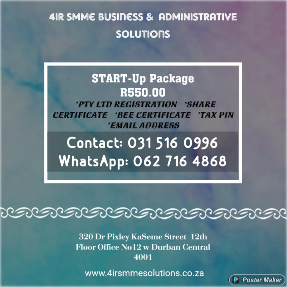 Start Up Package