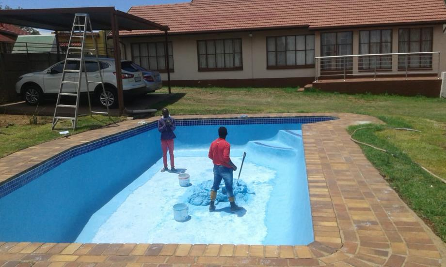 renovate pools/new pool/lappas/paving/maintainance