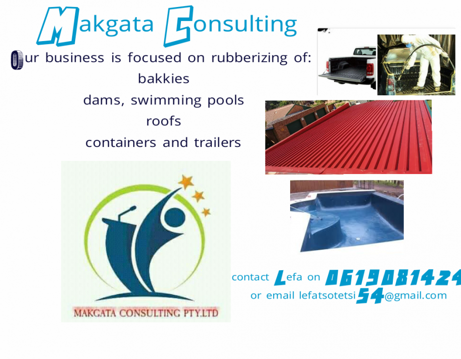Rubberizing and Waterproofing