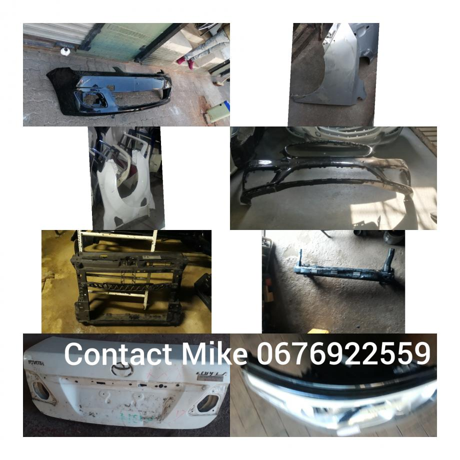 Original Used seconded parts for sale call Mike on 0676922559