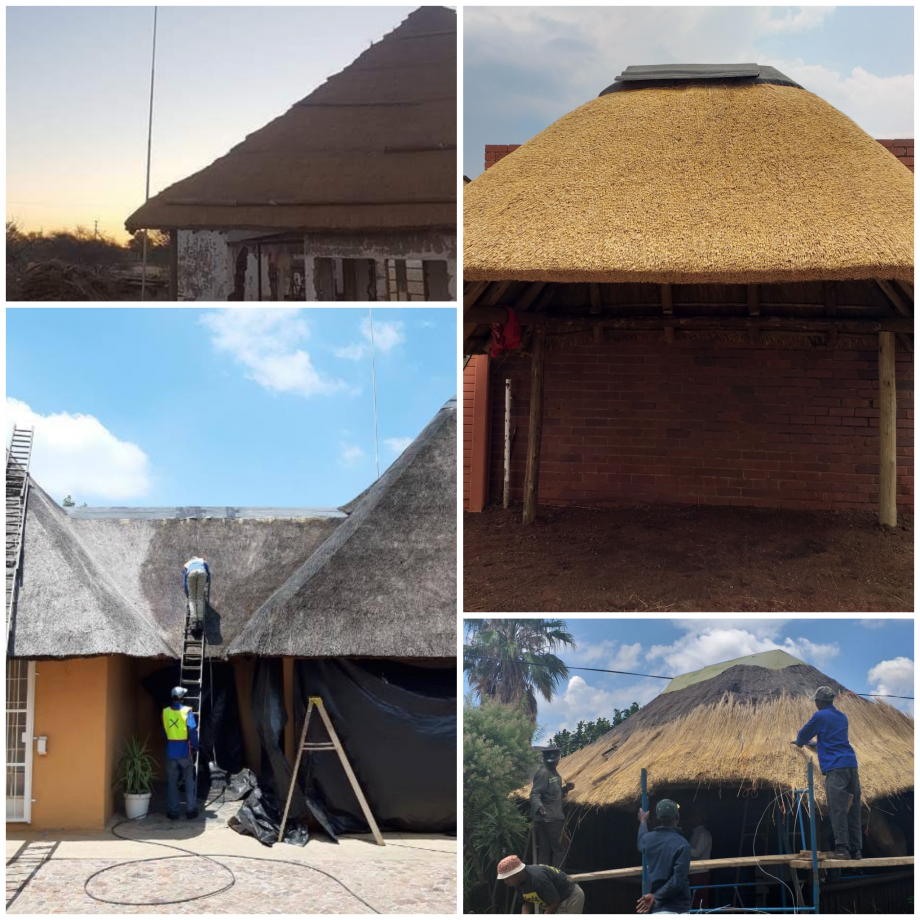 Fencing, Thatch roof, Harvey, Lightning Pole, Fire Protection