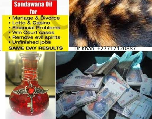 Sandawana Oil and Products for sale by +27717120887