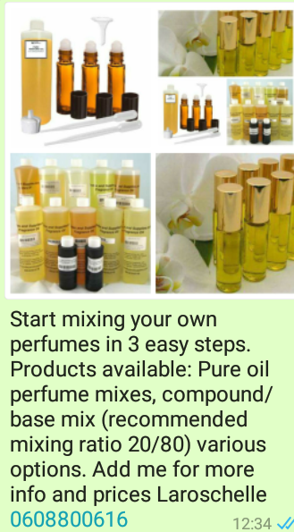 100%Pure Purfume Oils