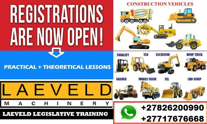 EXCAVATOR OPERATOR TRAINING @LAEVELD LEGISLATIVE TRAINING