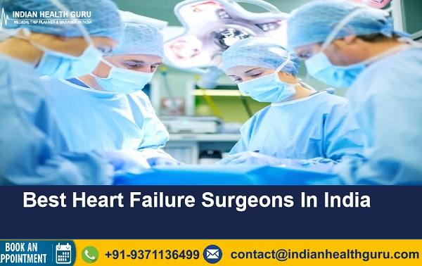 Top Heart Failure In Surgeons India