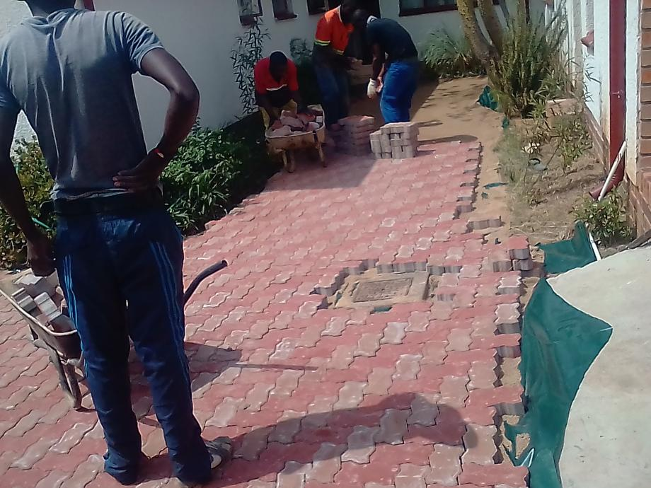 All types of paving