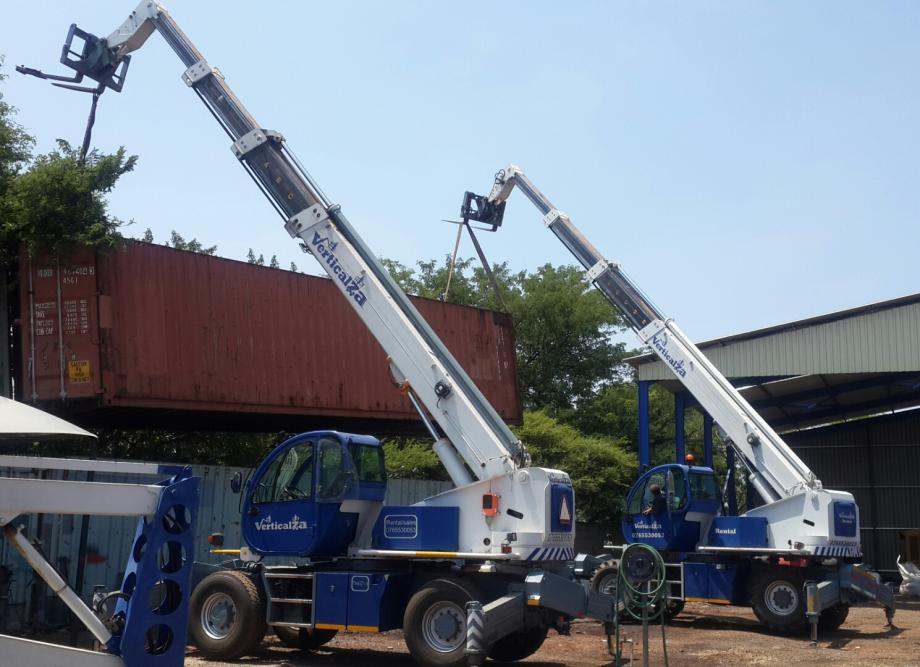 Telscopic container handler training course 0646752020 / 0766155