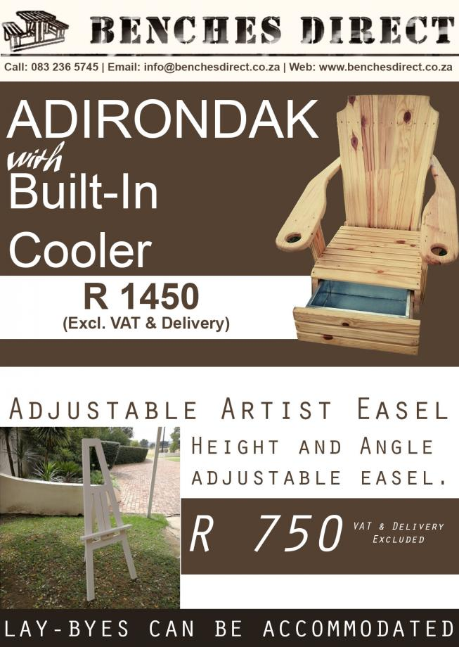 Benches Direct Seater & Adjustable Easel