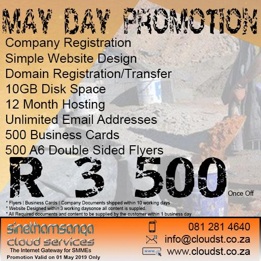 Workers Day Promotion 2019