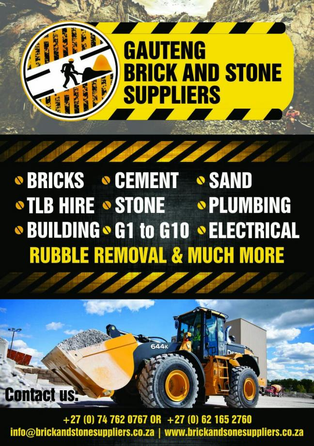 Gauteng Brick and Stone Suppliers