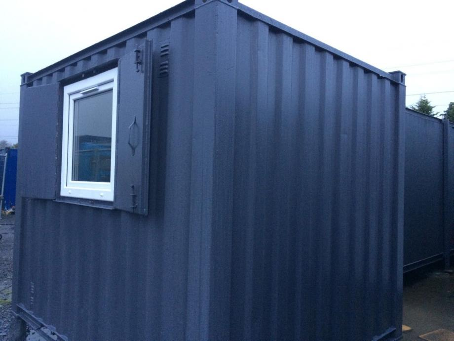 10x8ft Anti Vandal Site Office / Gate House / Portable Building
