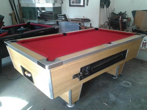 Used Coin Operated Pool Table for sale in Benoni Town
