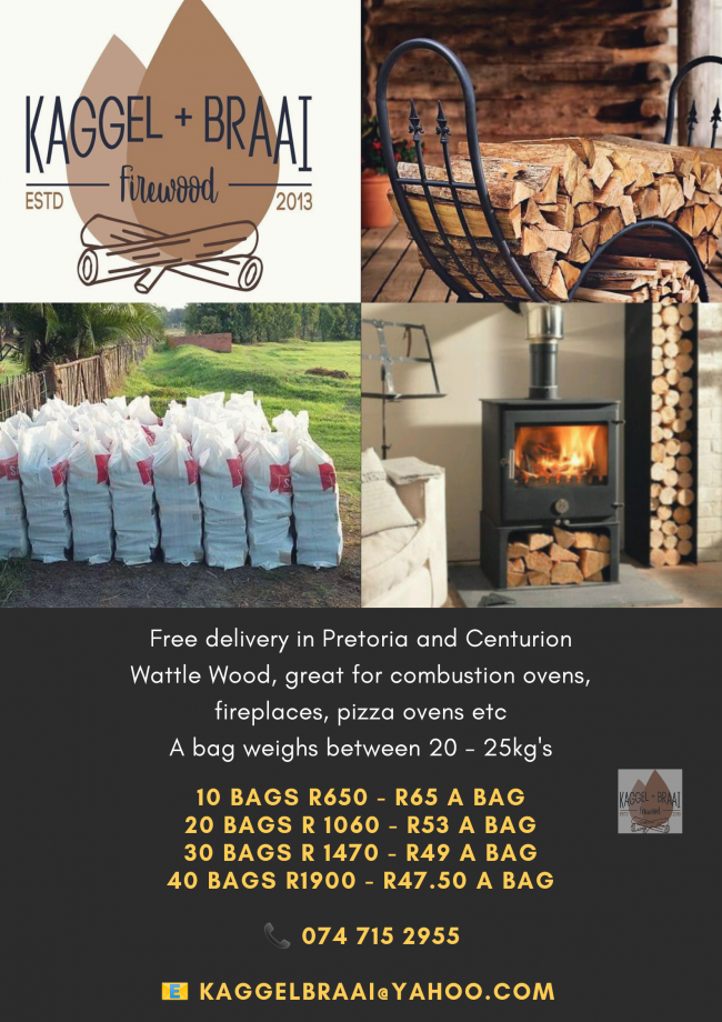 Dry Firewood delivered to your door