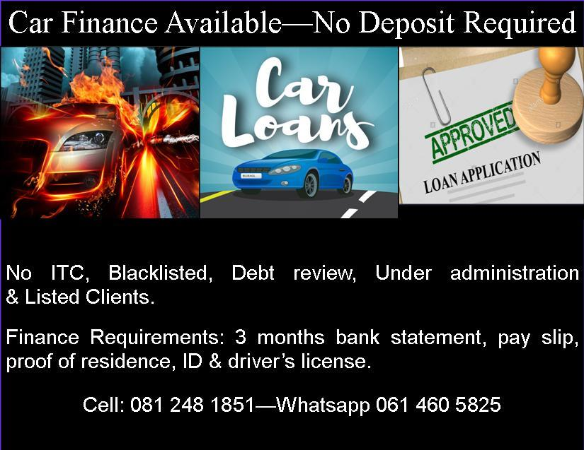 Car Finance Available