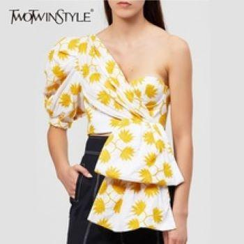 Women's Puff Shoulder Blouses , Dresses and Shirts