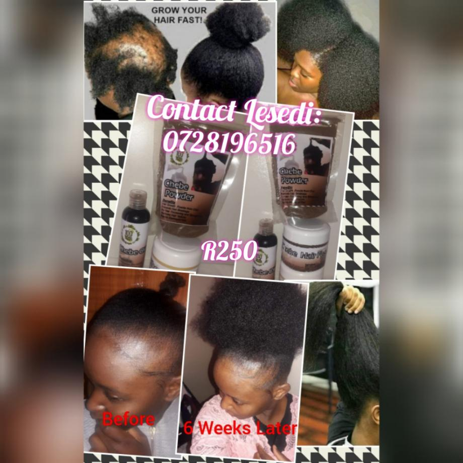 Chebe hair growth products