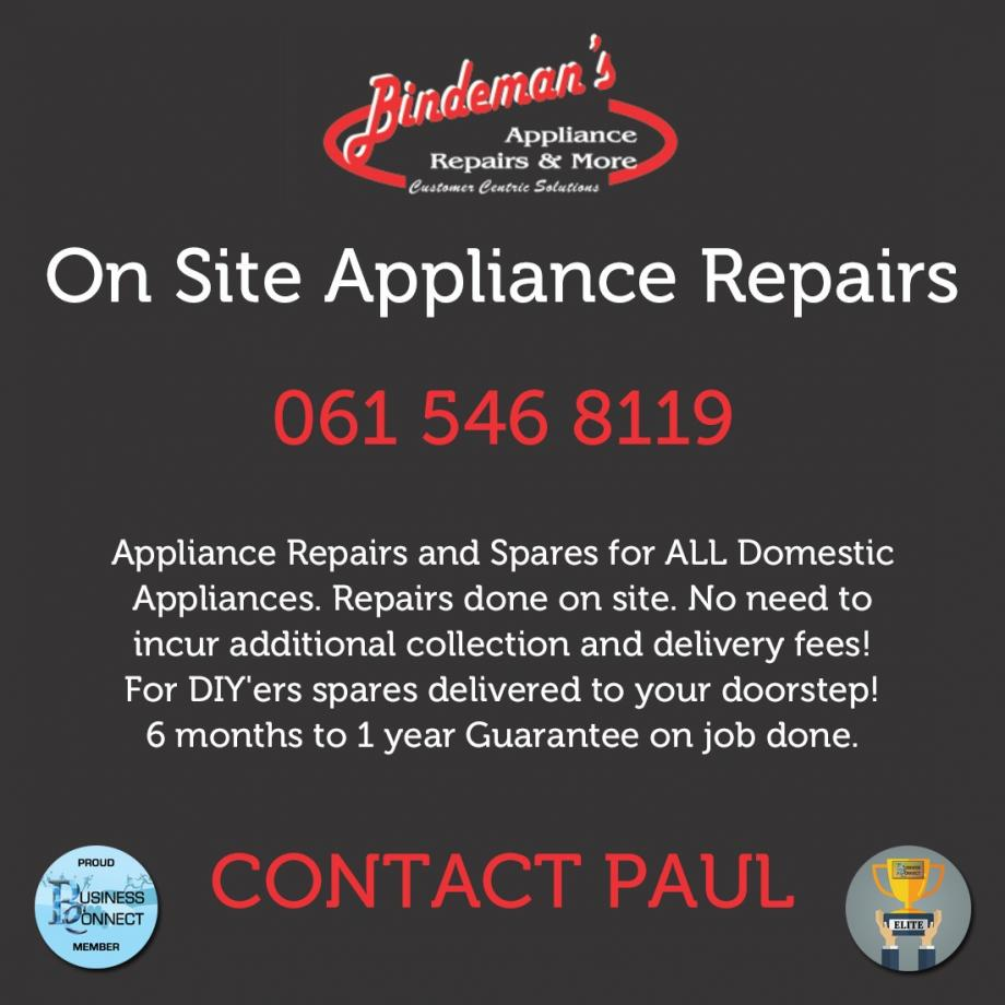 Onsite Appliance Repairs and Spares