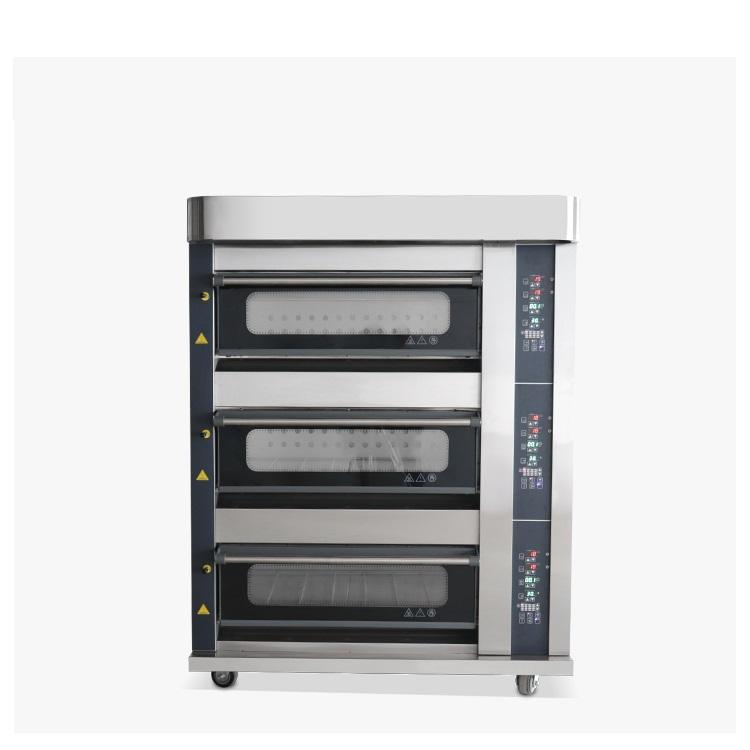 Industrial Bakery Equipment Large Scale Baking Ovens For Sale