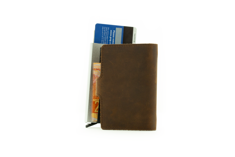 Genuine Leather RFID wallet