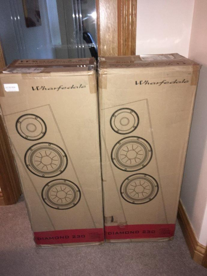 Warfdale Diamond Speakers