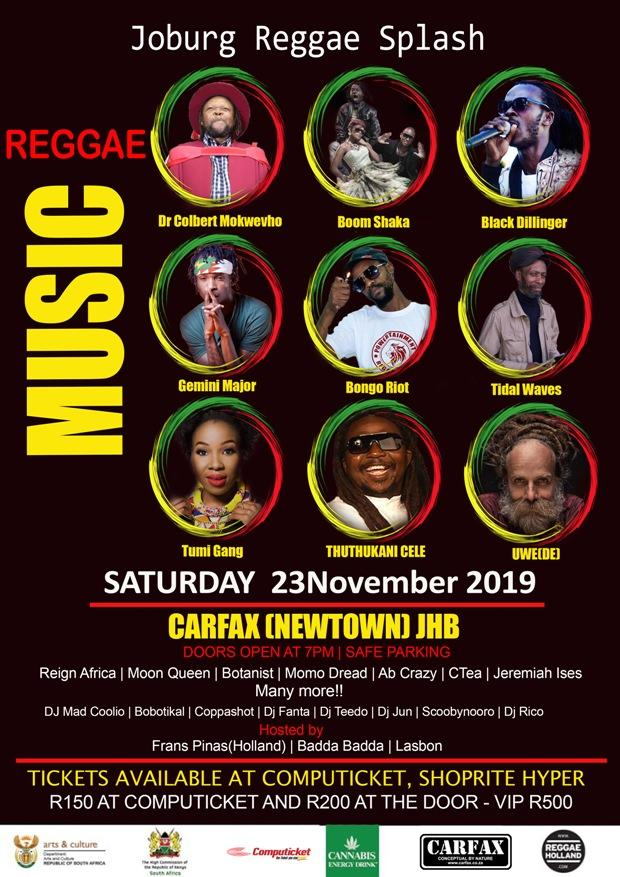 Joburg International Reggae Splash